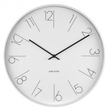 Wall Clock 5607WH Karlsson