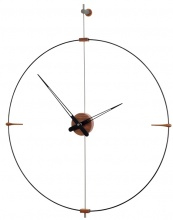 Design Wall Clock Nomon Bilbao Graphite Small 92cm