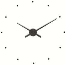 Design Wall Clock NOMON OJ black 50cm