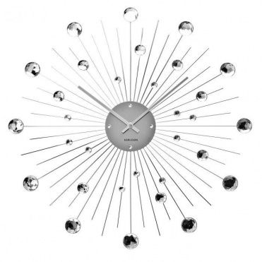 Design Wall Clock 4859 Karlsson 50cm Click to view the picture detail.