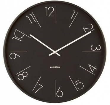 Wall Clock 5607BK Karlsson Click to view the picture detail.