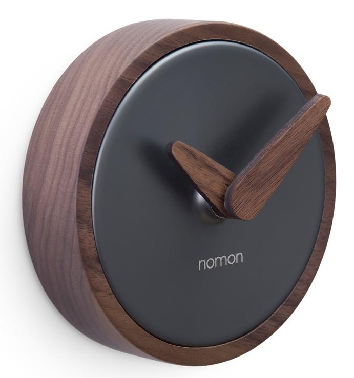 0e2e2f15cb6 Designové nástěnné hodiny Nomon Atomo Graphite 10cm