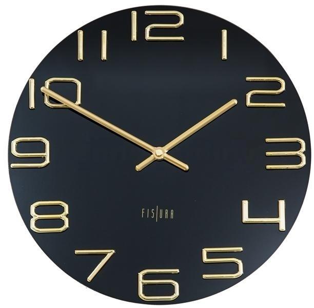 Designové nástěnné hodiny CL0289 Fisura 30cm  a81d77f298