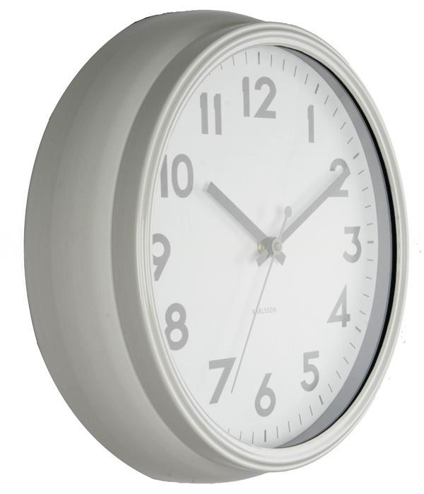 34fb64c82cb Designové nástěnné hodiny 5610WH Karlsson 38cm